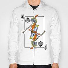 musical poker / Baroque oboe Hoody