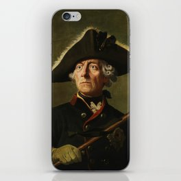 Frederick the Great Painting iPhone Skin