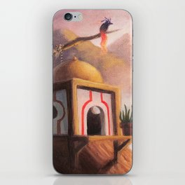 The Guardian of the Ember's Watchtower iPhone Skin