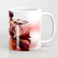mars Mugs featuring Mars by Athena_cg