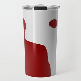 Robert Downey Jr Iron Man Concept Minimalist Design Travel Mug