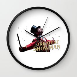 This Is The Greatest Show Wall Clock