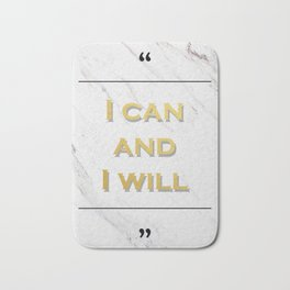 I can and I will quote Bath Mat