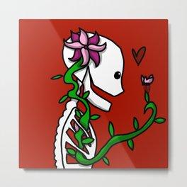 Bare Bones | Veronica Nagorny Metal Print