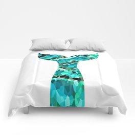 Mermaid Tail Turquoise Mint Aqua Comforters