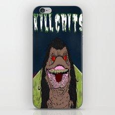 Kill Crits iPhone & iPod Skin