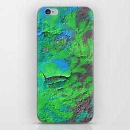 Green Entropy II iPhone Skin