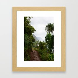 Kalalau Lookout Framed Art Print