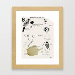 ISSUE 17 of Petite Hound Press: Karina Borowicz & Letisia Cruz Framed Art Print