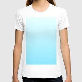 color gradient blue 7 T-shirt