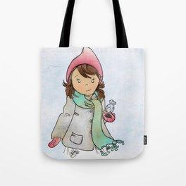 Winter Friends Tote Bag