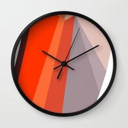 TheOrangeDiamonds Wall Clock