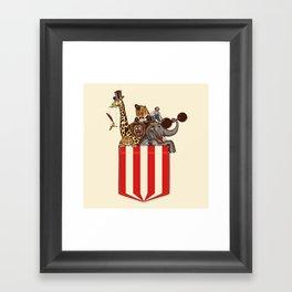 Pocket Circus Framed Art Print