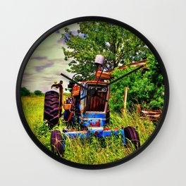Ford Tractor Wall Clock