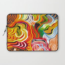 colored flow Laptop Sleeve