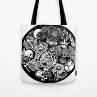 alchemy Tote Bags featuring Alchemy  by Emily N3ver