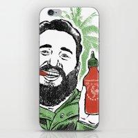 Castro Sauce iPhone & iPod Skin