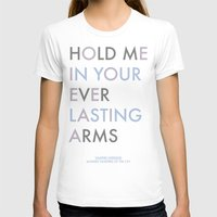 vampire weekend T-shirts featuring Vampire Weekend - HOLD ME IN YOUR EVERLASTING ARMS by Corrie Jacobs