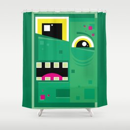 Zombieguy Shower Curtain
