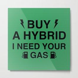 Buy A Hybrid Metal Print