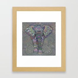 Elephant Spirit by Julie Oakes Framed Art Print