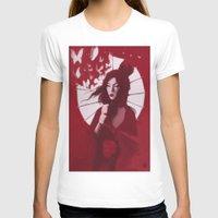 geisha T-shirts featuring Geisha by Luis Dourado