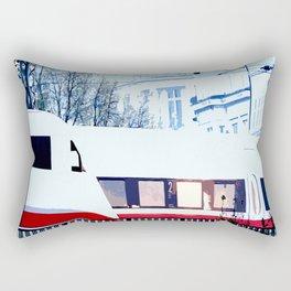 Hotel Atlantic Rectangular Pillow