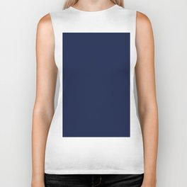 Simply Nautical Navy Biker Tank