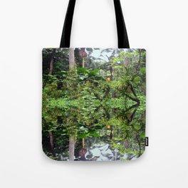 Singapore Botanical Garden 1 - Double Vision Tote Bag