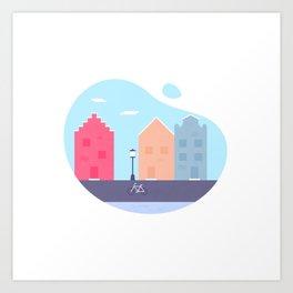 Little Europe Art Print