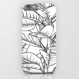 Leaves Line iPhone Case