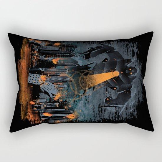 Evil Will Burn Rectangular Pillow