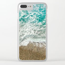 Soothing Sea Clear iPhone Case