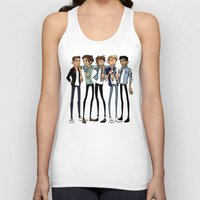 cargline Tank Tops featuring I Think It Went by cargline