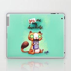 Chocolate addict Laptop & iPad Skin