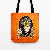 rap Tote Bags featuring Rap God by RJ Artworks