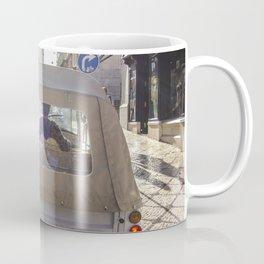 car in Lisbon Coffee Mug