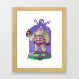 Krang the Conqueror Framed Art Print