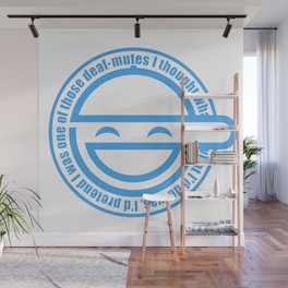 The Laughing Man Wall Mural