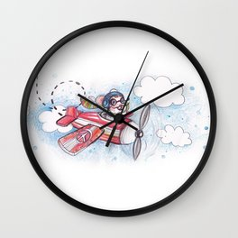 Pilote Mouse Wall Clock