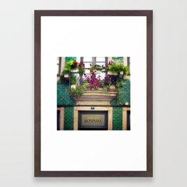 Rosinha Framed Art Print