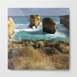 Twelve Apostles Australia Coast Metal Print