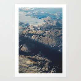 Mountain Aerial Digital Prints, Spain Mountains Poster, Iberian Prints, Modern Home Decor, Wall Art, Art Print
