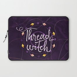 Thread Witch Laptop Sleeve