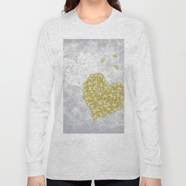Hearts and ghosts of romance Long Sleeve T-shirt