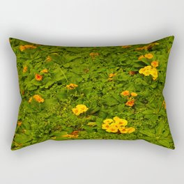 Early Yellow Bloomers Rectangular Pillow