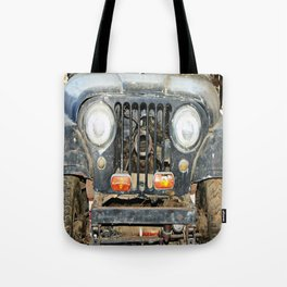 Willie Jeep Tote Bag