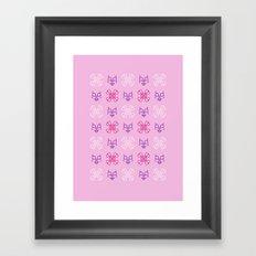 Cute Bones Framed Art Print