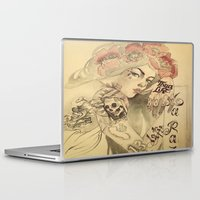mucha Laptop & iPad Skins featuring mucha chicano by paolo de jesus