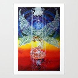 Kundalini Rising Art Print